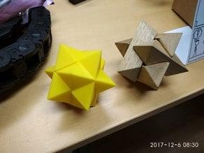 3D puzzle Star