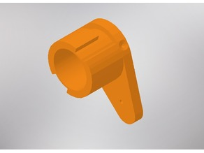 Nerf Caliburn Barrel Adapter for Nerf Attachments