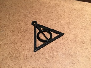 Harry Potter's Deathly Hallows (spinning)
