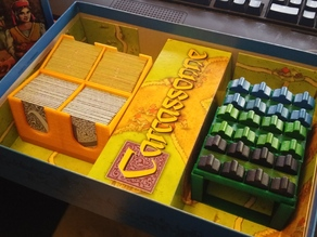 Carcassone game organizer