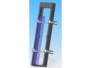 Radiator Bracket for EK CoolStream PE 480 (Quad)