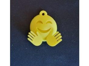 Emoji Hug Keychain
