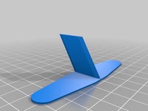 3D plane body and tail