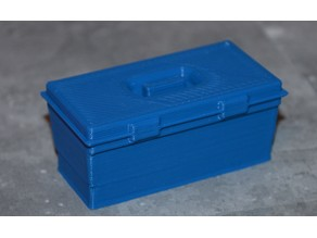 Scale 1/10 tool box