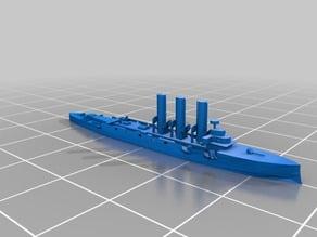 Pallada-Class Protected Cruiser 1:2400 Scale
