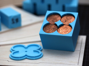 Customizable Penny Weight / Coin Compartment