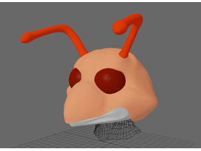Fursuit- or puppet-head base - version 68 - Cartoon Insect