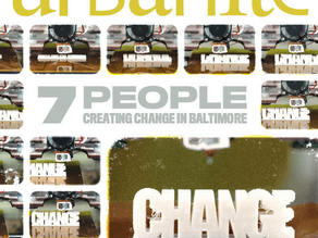 'Change' Logo for Urbanite Magazine Cover