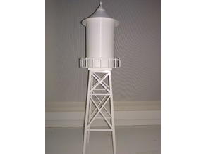 Auto-watering flowers water tower from Gravity Falls