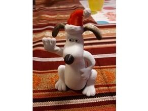 Santa hat for gromit