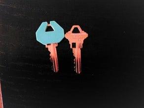 Encapsulated / encased key cover for SC1 True Value key