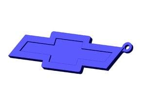 Chevy logo keychain