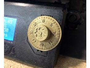 Prusa i3 - Selector Knob - Combination Dial