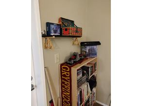 Deathly Hallows Shelf Bracket