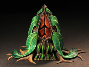 "Tabletop plant: Alien Vegetation 06 ""Welwitschia Ghost Plant"""