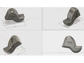 Mogs R1 / L1 finger prosthesis controller