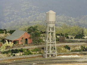 HO Scale Water Tower