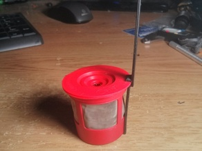 keurig cup filter to tea diffuser adapter(cafe cup)