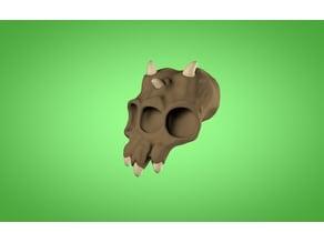 Poison Zone Mutant Skull