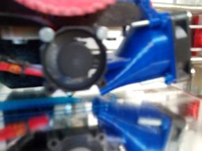 Layer fan mount for leonozzle v2 - Prusa i3 (40mm fan)