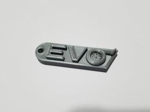 Evo Turbo Keychain