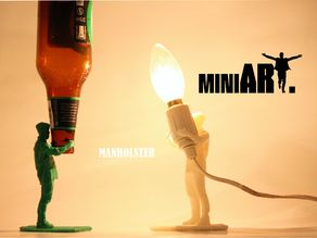 miniART | MANHOLSTER - Turning humans and animals into functional & artistic objects.