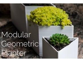 Modular Geometric Planters