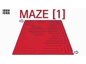 [1DAY_1CAD] MAZE [1]
