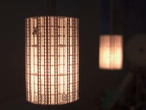 Fractal lamp shade