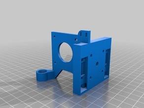 Hypercube Evolution E3D v6 + Titan direct drive extruder mount + M12 inductive sensor