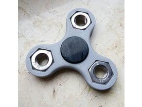 M10 Hexnut Fidget Spinner