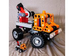 Jumbo Technic Bricks 5:1 Scale