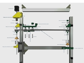 K8200 (3drag) dual leadscrew z axis upgrade with 2 Velleman K8204 leadscrew Kits