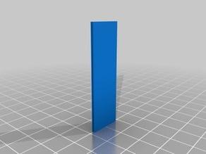 Aluprofilplatte 16x160 Nut 8