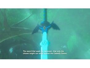 Master Sword (Full Size) - Legend of Zelda BotW / OoT / SS