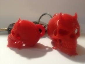 Devil skull keychain remix