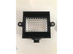Colored filter light holder