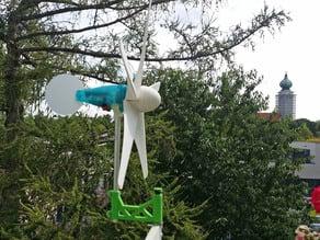 Wind_Blade für Mini - Windrad mit brushless Generator