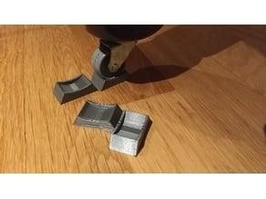 Table Caster wheel stopper