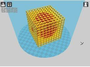 Dual swiss cube