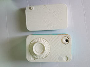 print a 3d gadget to make hidden camera with you mobile phone.