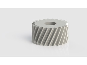 EASY TO PRINT: Meshing Worm Gears Example