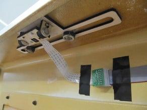 Raspberry Pi camera lasercutter mount