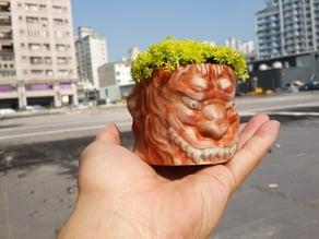 獅子座花盆 Leo- flowerpot