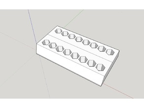 Hex bits holder