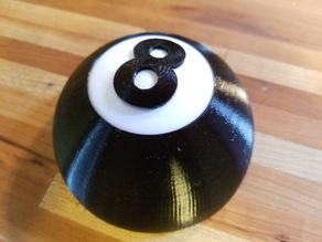 Open 8 Ball Separate Colors