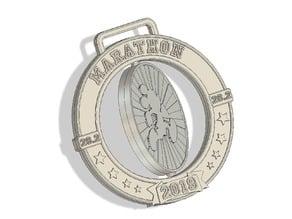 Spinning Marathon Medal