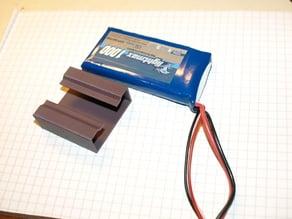 LiPo battery holder