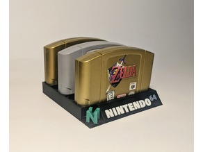 Nintendo 64 5 Slot Cartridge Holder