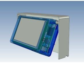 PanelDue holder and swivel box
